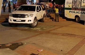 Al menos un policía muerto y cinco heridos en explosión en Bogotá