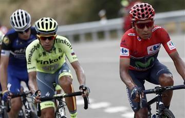"""Contador está al nivel de Nairo Quintana, pero no al de Froome"""
