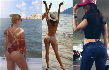 Instagram: 5 famosas que mostraron sus nalgas en el 2016