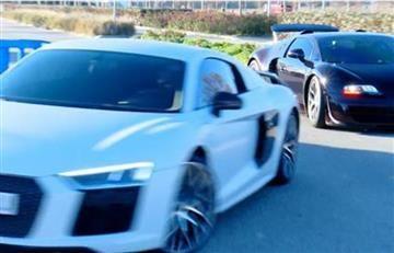 James Rodríguez y Cristiano Ronaldo se lucen con lujosos carros