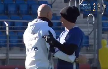 James y Zidane callaron a la prensa mundial