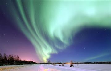 Viento solar provoca auroras boreales