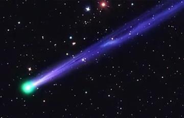 Año Nuevo: Cometa iluminará el cielo