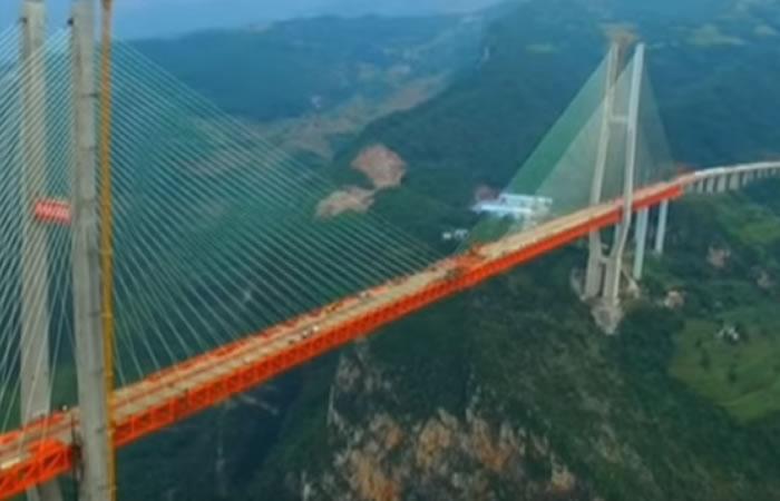 El puente más alto del mundo. Foto: Youtube