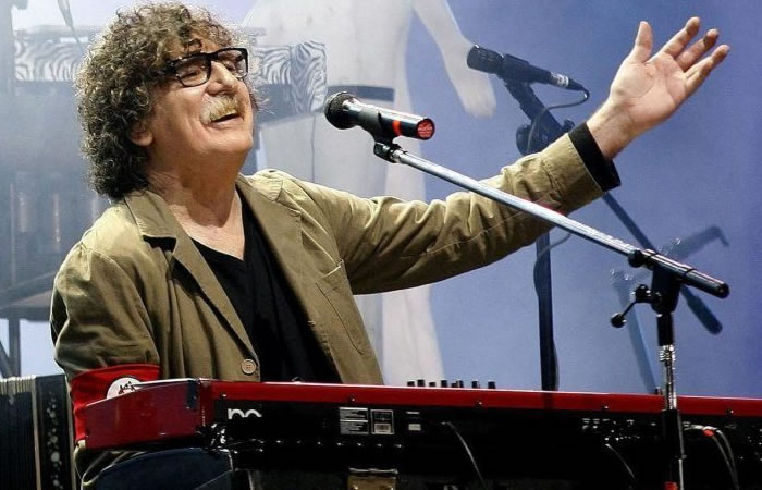 Charly García le da a la música una gran noticia