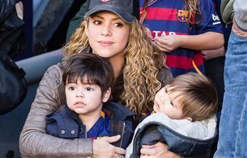 Instagram: Shakira despidió el 2017 junto a su familia