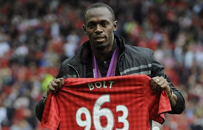 Usaín Bolt llama a Manchester United TV ¡y no le creen!