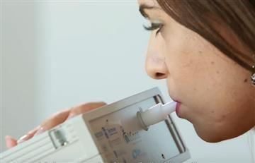 Cáncer: Crean máquina que detecta la enfermedad con el aliento