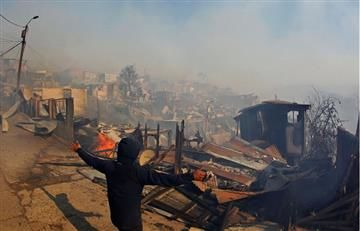 Chile: Valparaíso en emergencia por gigantesco incendio