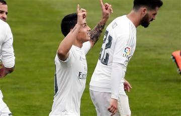 James Rodríguez titular ante el Sevilla