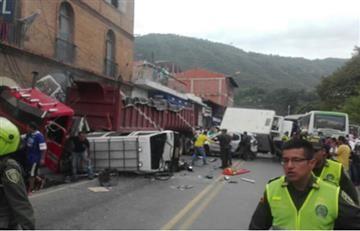 Santander: Accidente en San Gil deja varios muertos