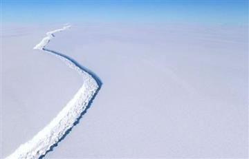 Antártida: Gigantesco iceberg está a punto de desprenderse