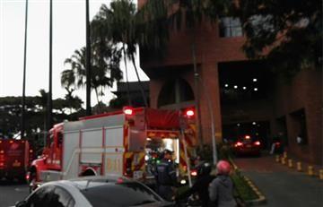 Cali: Incendio en la clínica Valle del Lili