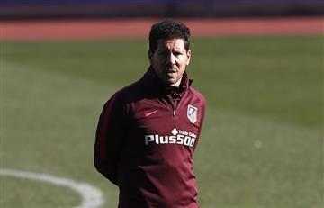 Diego Simeone mantiene la calma en el Atlético de Madrid