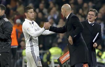 James Rodríguez: Zidane vuelve a hablar sobre el colombiano