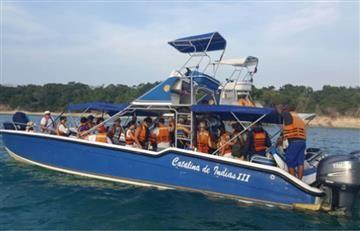 Armada Nacional rescató a 40 turistas a la deriva en el caribe colombiano