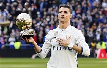 Cristiano Ronaldo orgulloso de su cuarto balón de oro