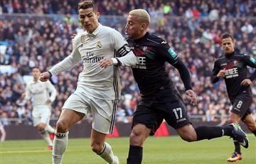 Real Madrid ganó con James en la cancha
