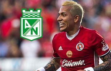 Dayro Moreno más cerca de Atlético Nacional
