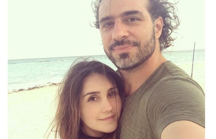 Dulce María y su novio. Foto: Instagram