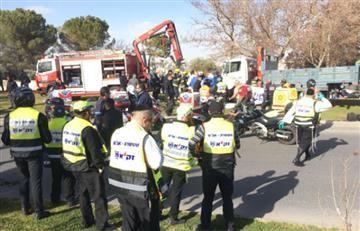 Jerusalén: Camión embiste a una multitud dejando cuatro muertos
