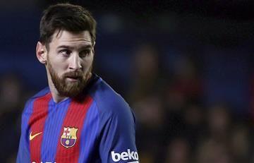 Messi le da vida al Barcelona