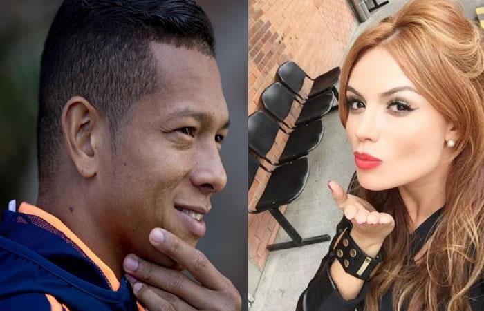 Fredy Guarín y su indirecta a Sara Uribe