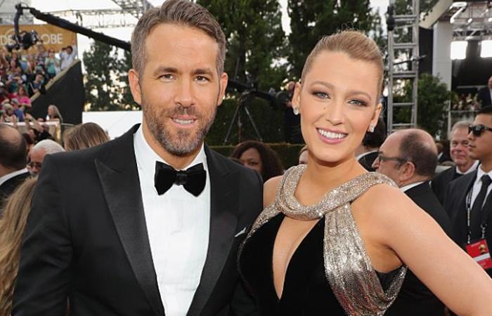 Globos de Oro: Así lucieron Blake Lively y Ryan Reynolds en los premios