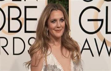 Globos de Oro: Drew Barrymore, así llegó a los premios