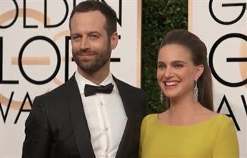 Globos de Oro: Natalie Portman luce su embarazo