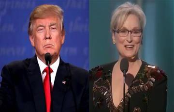 Globos de Oro: Trump ataca a Meryl Streep por sus críticas