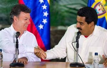 Maduro se unirá a Santos para construir una frontera armónica