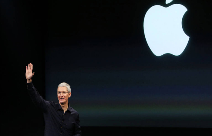 CEO Tim Cook. Foto: EFE