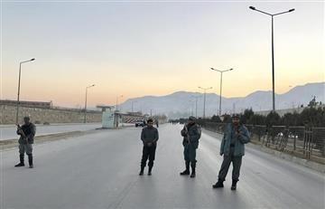 Kabul es epicentro de un doble atentado talibán