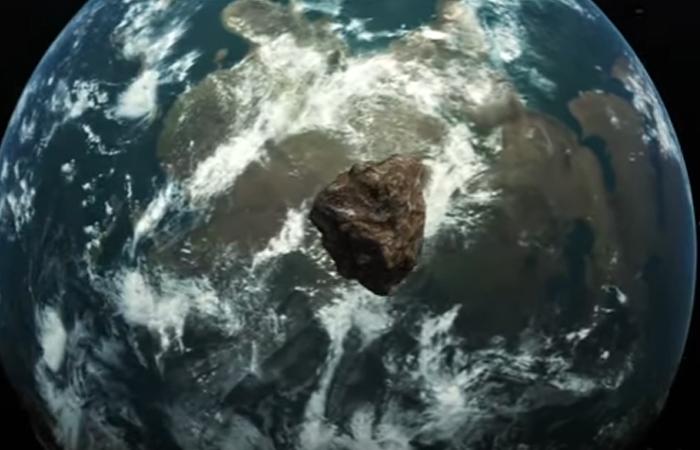 Asteroide pasó muy cerca de la Tierra. Foto: Youtube