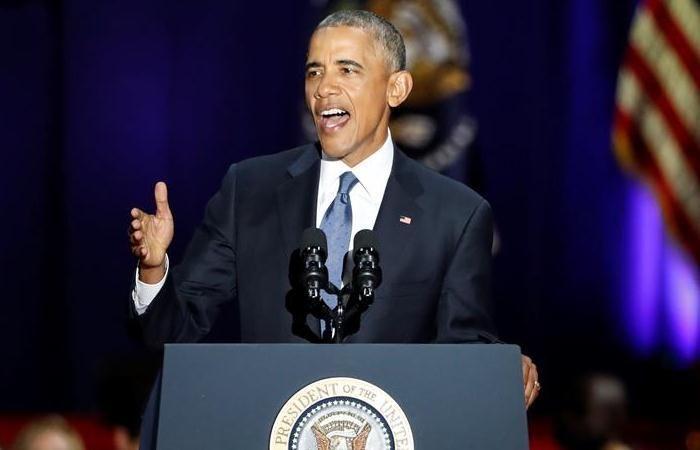 Barack Obama sacó pecho en su último discurso