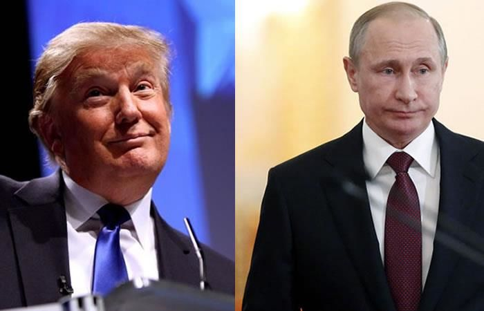 Donald Trump niega que Rusia tenga información comprometedora