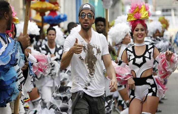 Enrique Iglesias grabó en Cuba el video de su tema
