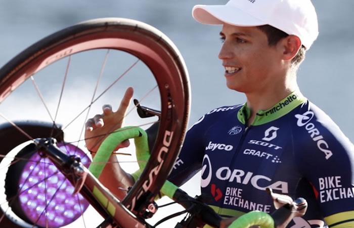 Esteban Chaves y el evento que interesa a los amantes del ciclismo