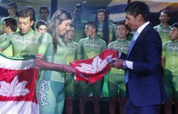 Nairo Quintana presentó el equipo 'Boyacá es para Vivirla'