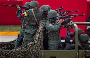 """Venezuela se alista para una """"guerra popular prolongada"""""""