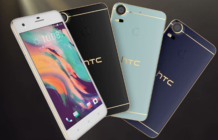 HTC lanza nuevos móviles, uno con pantalla secundaria