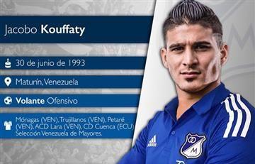 """Millonarios: """"Llego al equipo más grande de Colombia"""": Kouffaty"""
