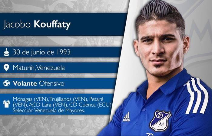 Millonarios: 'Llego al equipo más grande de Colombia': Kouffaty