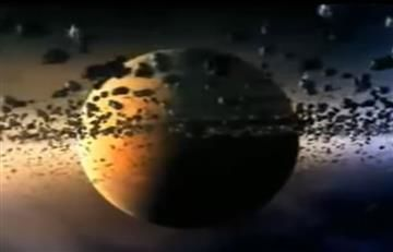 NASA: La estrella de la muerte revive en la luna de Saturno