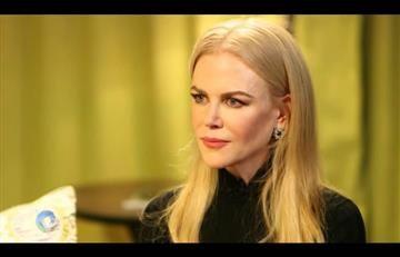Donald Trump debe ser apoyado por EE.UU, afirma Nicole Kidman