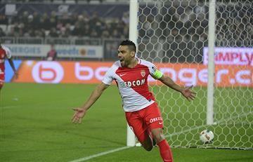 Falcao puso a ganar al Mónaco frente al Marsella