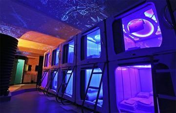 Subspace, un hotel con cápsulas espaciales en lugar de habitaciones