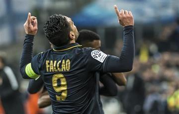 Falcao García se encuentra entre los tres goleadores de Francia