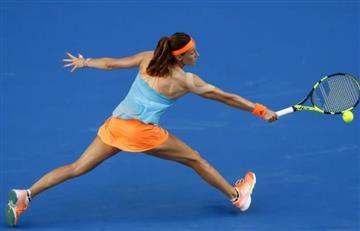 Mariana Duque eliminada tras dura derrota ante Kuznetsova